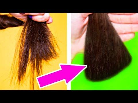Какпредотвратить сечение волос