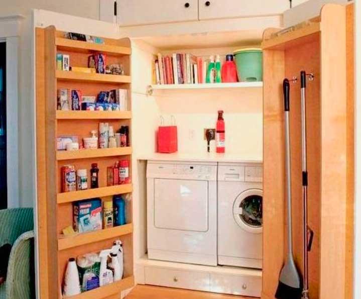 Какразместить вещи вочень маленькой квартире