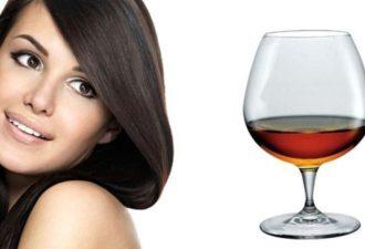 Маска для волос с коньяком: польза и вред, правила нанесения. Лучшие рецепты приготовления масок для волос с коньяком в домашних условиях