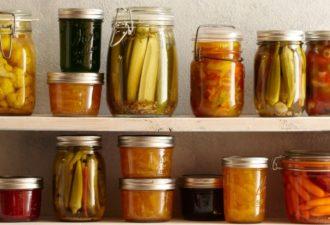 Как хранить консервацию: полезные советы