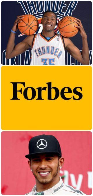 10 спортсменов из списка Forbes с самым большим годовым доходом