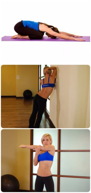 Упражнения для растяжки всего тела