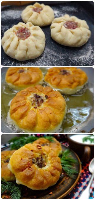 Перемячи – татарская выпечка с мясом