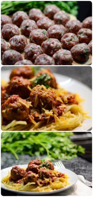 Спагетти с фрикадельками (Spaghetti Sauce with Meatballs)