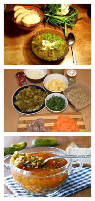 Рассольник с перловкой и солеными огурцами - пошаговый рецепт