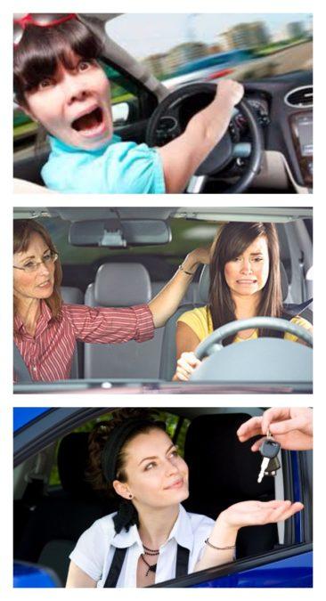 Женщина за рулем - как не бояться сесть впервые?