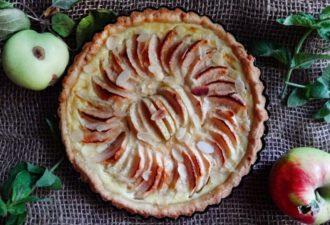 Нормандский яблочный тарт. Приготовьте этот удивительный яблочный пирог. Уверена, что он станет вашим фаворитом!