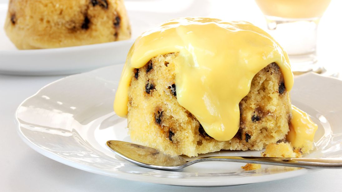 Пудинг «Пятнистый Хер» (Pudding «Spotted Dick»)