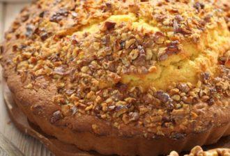 Кавказский ореховый пирог