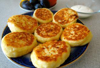 Очень вкусные необычные сырники