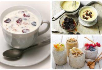 Идеальный завтрак для тех, у кого свисающий живот