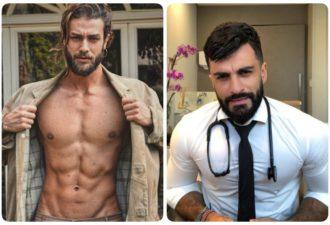 Фото горячих докторов, к которым записываются даже здоровые женщины