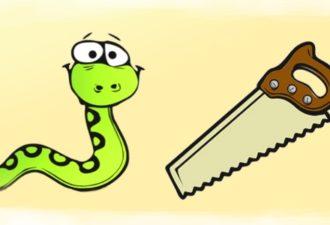 Мудрая притча о змее и пиле
