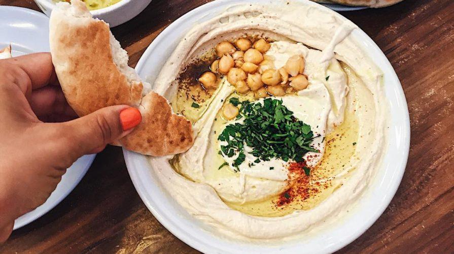 Израильский хумус
