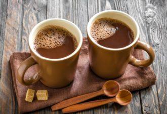 Почему так необходимо пить какао, особенно, если вы старше 40 лет!