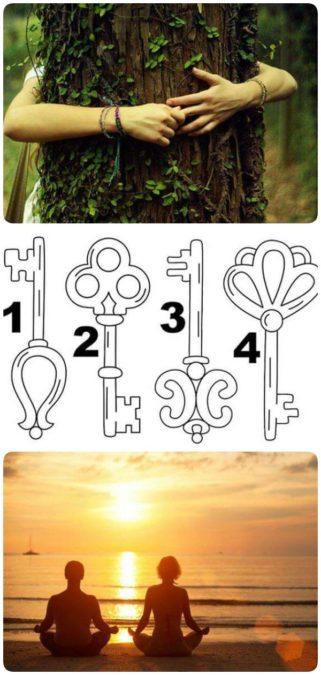 Выбранный ключ откроет скрытый смысл вашей жизни!