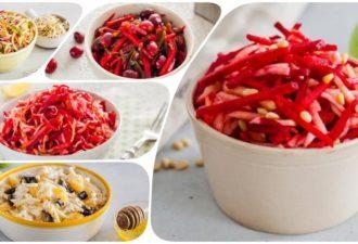 Салат Щетка: 5 рецептов вкусного похудения и очищения кишечника