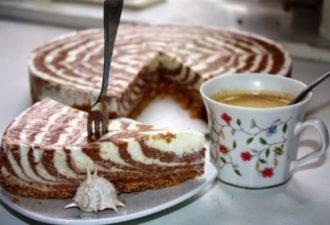 Красивый и вкусный творожный торт без выпечки — настоящее украшение праздничного стола!