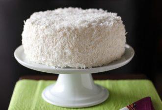 Кокосовый торт. Это очень-очень-очень вкусный тортик! Попробуйте!
