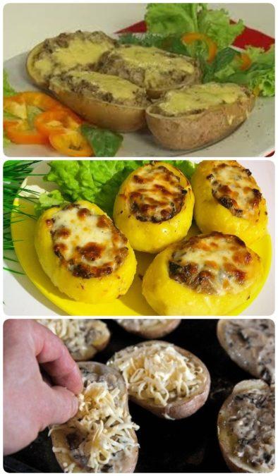 Жюльен в картофеле — шикарное блюдо из самых простых продуктов!