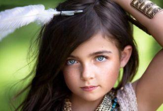 В нашем детском доме появилась необычная девочка. Черные волосы и голубые глаза. Звали девочку Милана