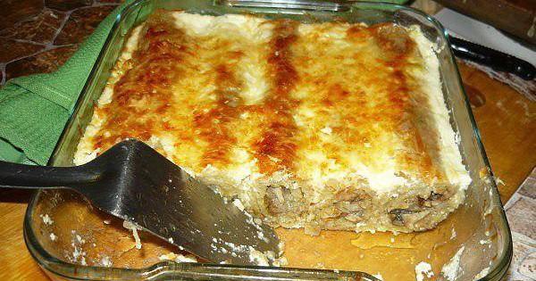 Превосходное блюдо для тех, кто не ест жаренное — Драники, запеченные с грибами