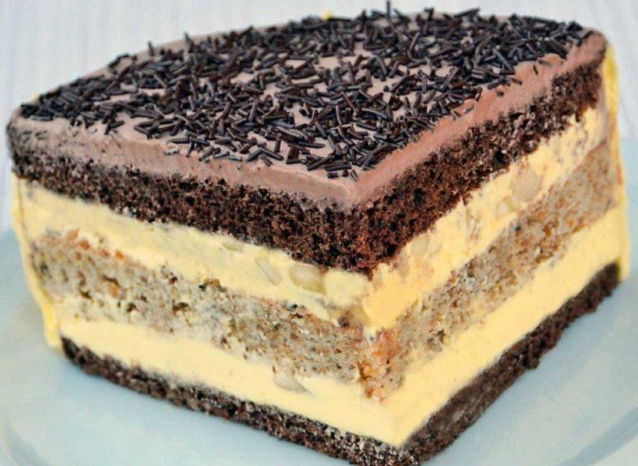 Польский торт «Халва» — безумно вкусный