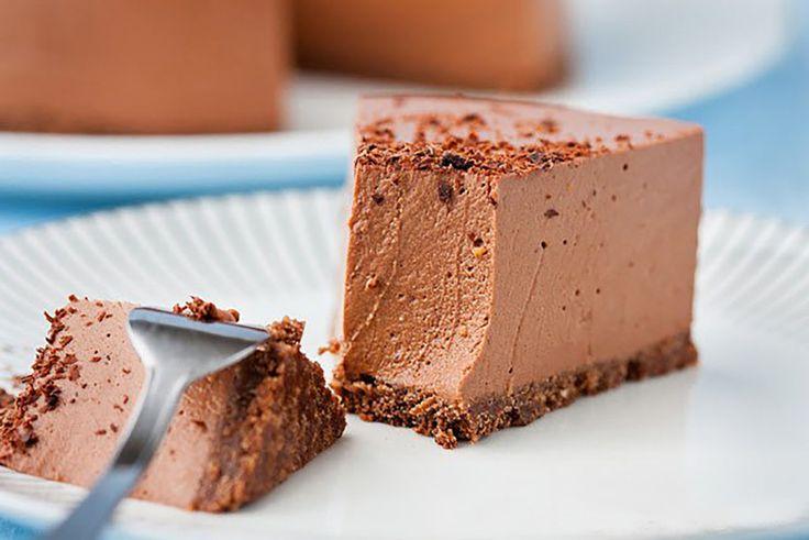 Диетический шоколадный чизкейк для тех, кто на диете