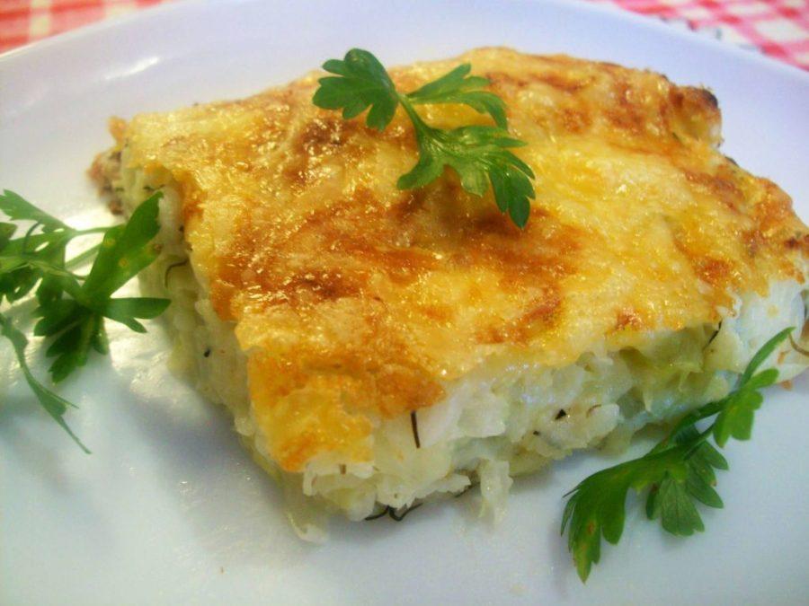 Диетическая запеканка из капусты с яйцом — идеальный ужин