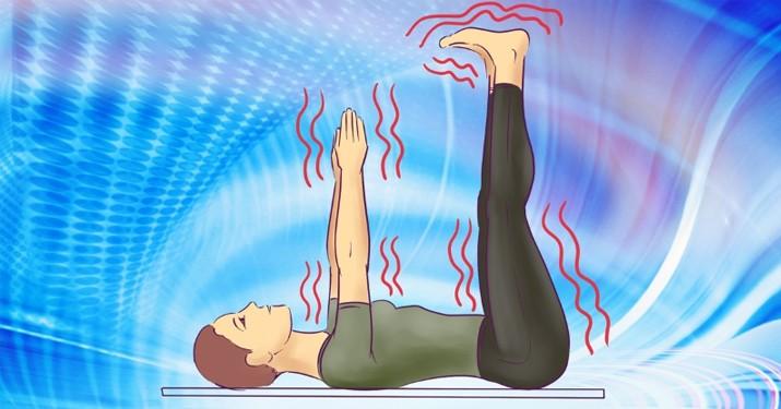 Поза спящих конечностей: минутная гимнастика перед отходом ко сну. Сладко сплю даже после самого напряженного дня
