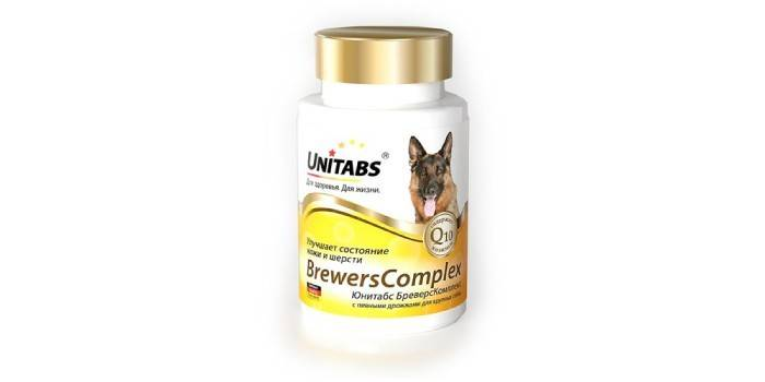 Витамины для собак крупных пород