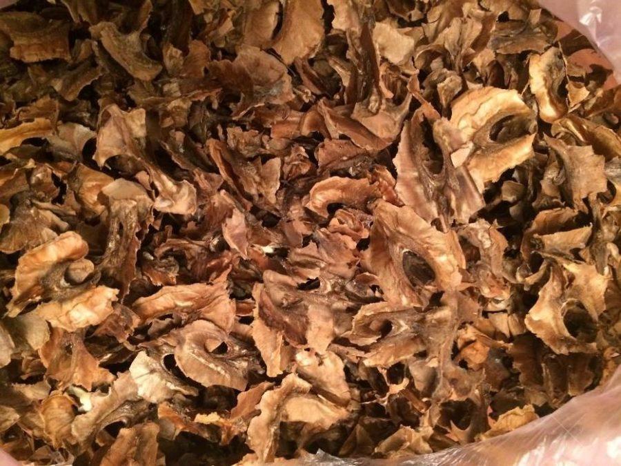 Перегородки грецких орехов! Не стоит выбрасывать, они вам еще пригодятся.