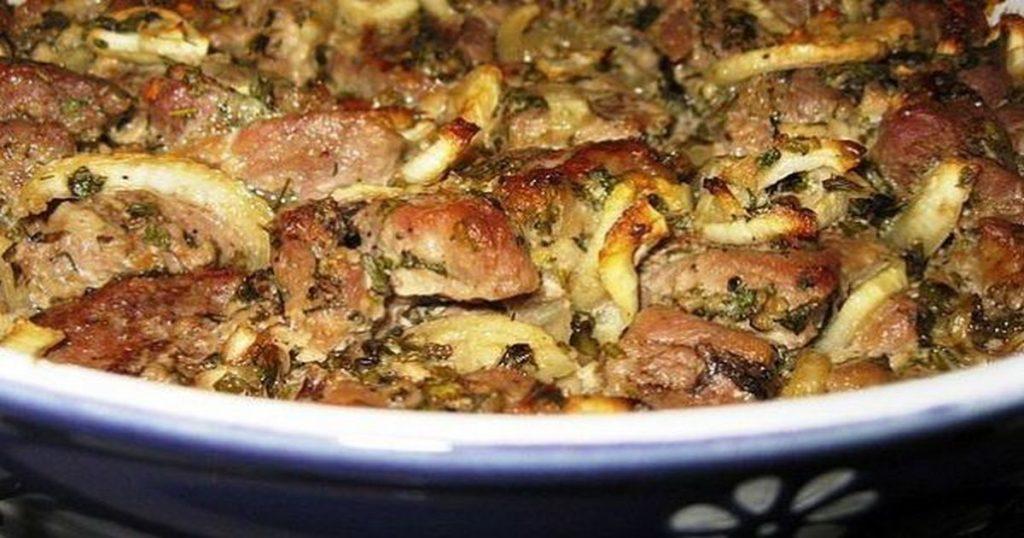 Мясо в духовке по-грузински! Давно искала такой рецепт