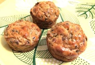 Капустные кексы. диетическое блюдо для завтрака, перекуса и прекрасной формы