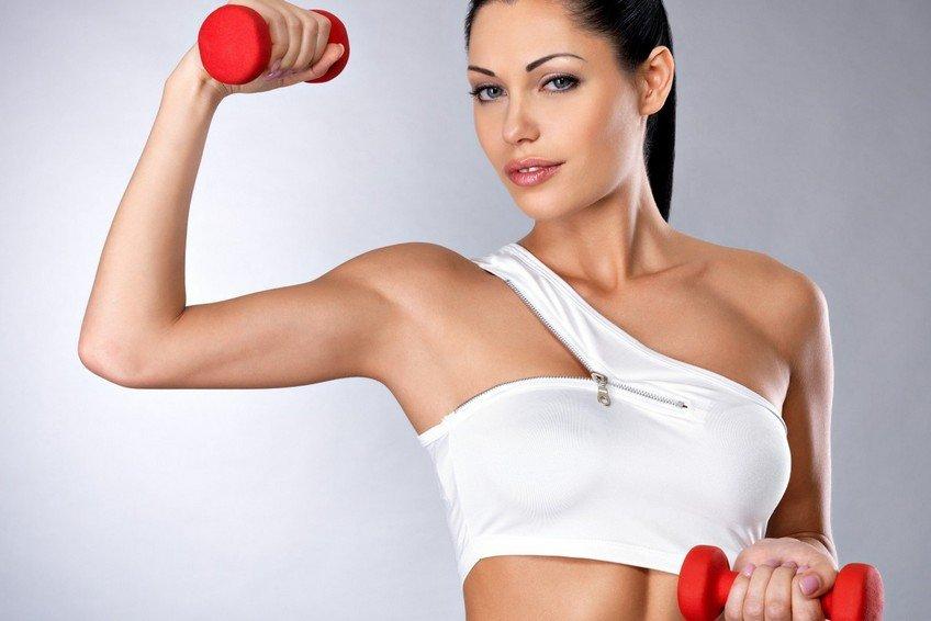 6 эффективных упражнений при дряблости рук