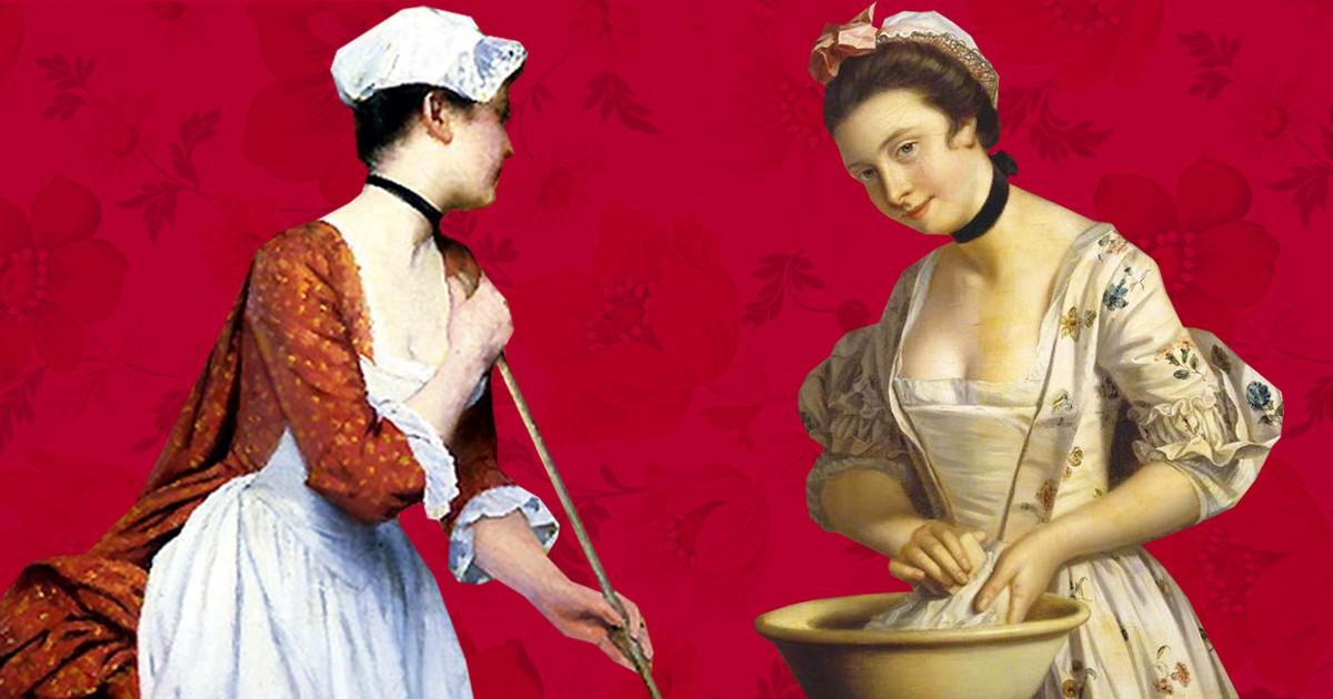 Будни служанки в 19-ом веке