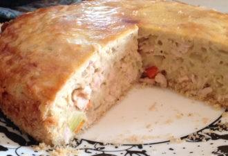 Самый вкусный и простой мясной пирог.