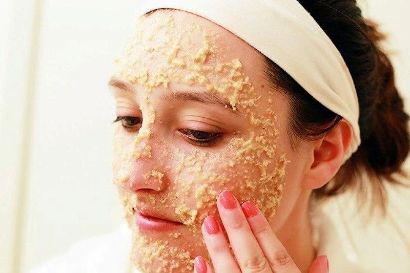 Обычная овсянка поможет очистить кожу