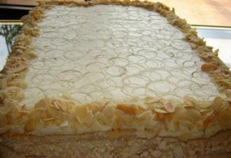 Невероятно вкусный торт. Вы только попробуйте!