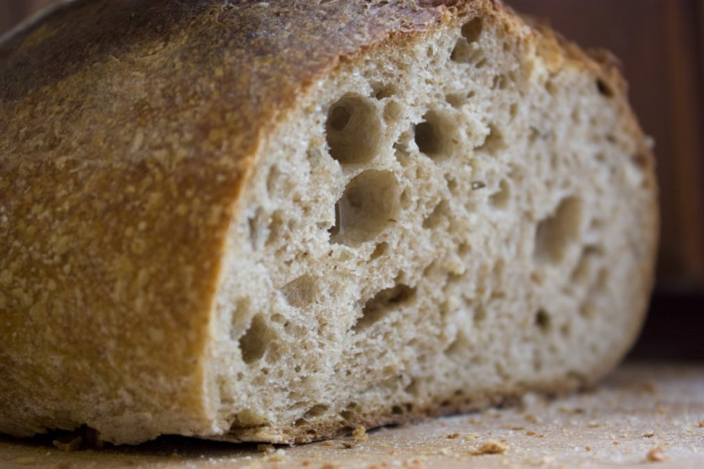 Бездрожжевой хлеб. Для тех, кто следить за своим питанием.