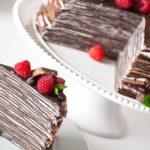 Нежный и легкий блинный торт.