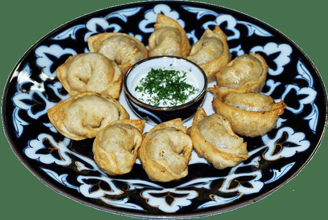 Узбекские пельмени - чучвара.