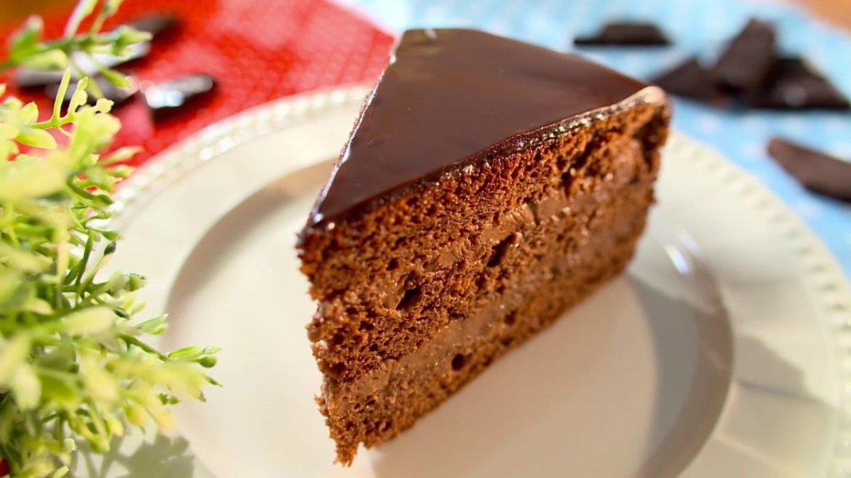 """Очень простой рецепт """"пражского"""" торта."""