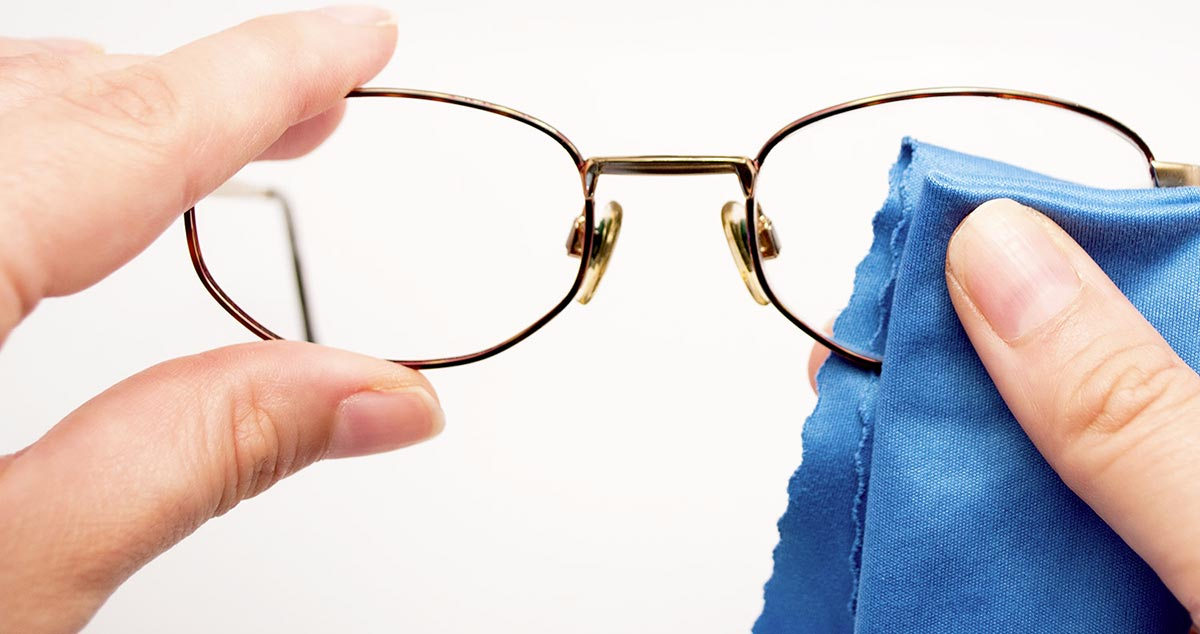 Спасаем очки от царапин.