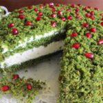 """Очень красивый и очень вкусный торт """"Лесной мох"""""""
