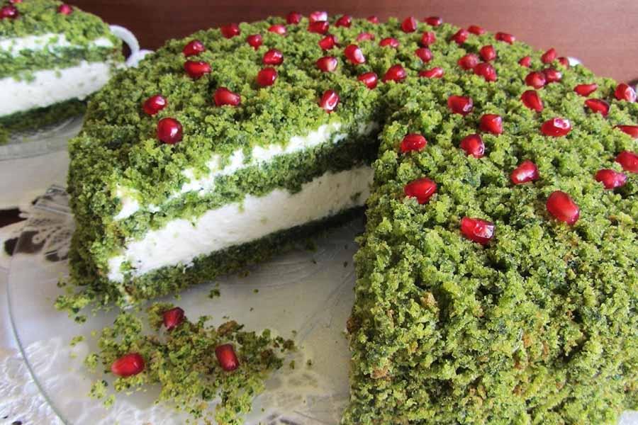 Очень красивый и очень вкусный торт