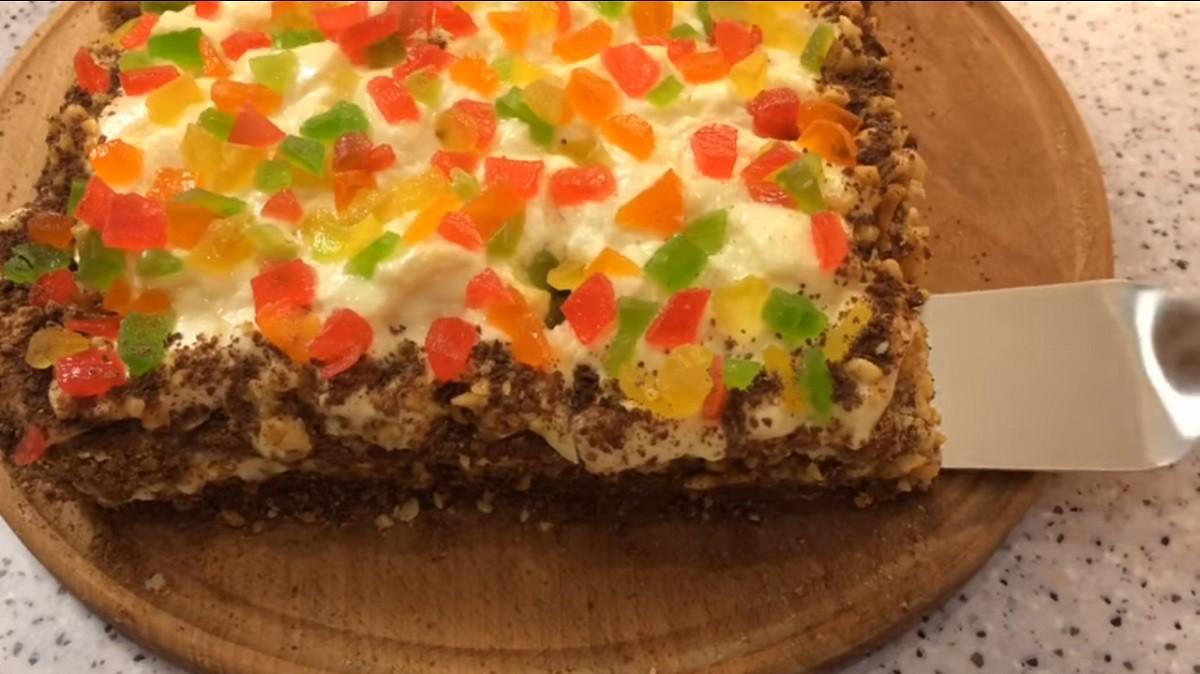 Легкий и нежный торт