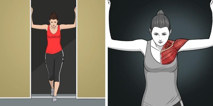 Упражнения на растяжку, которые заменят массаж шеи и спины.