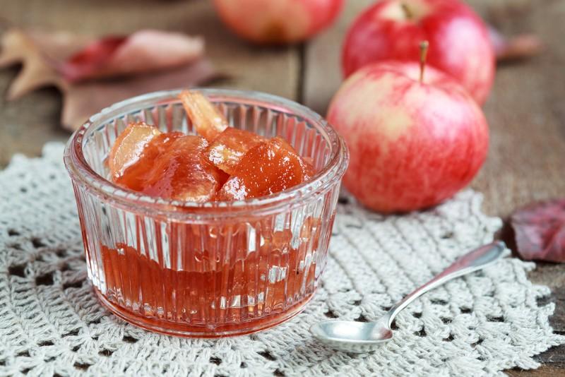 Яблочное варенье из духовки. Невероятно вкусное.