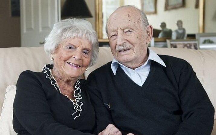 87 лет вместе. Еврейская пара побила рекорд